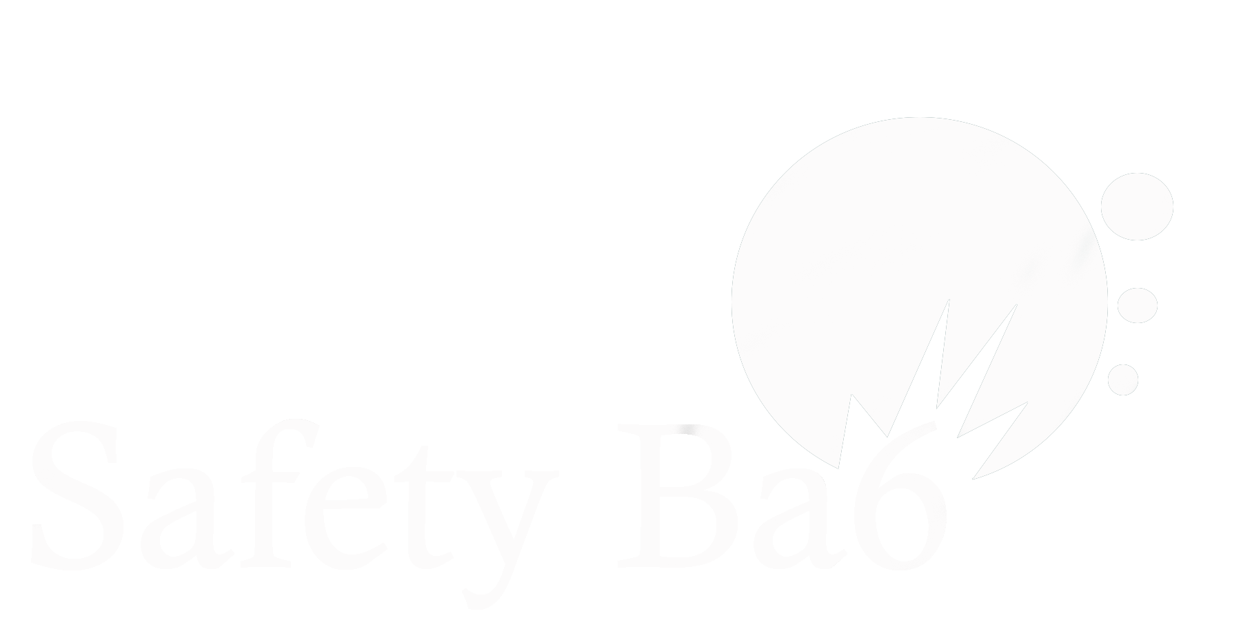 SafetyBa6White-Logo